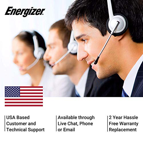 Energizer's good Customer and Technical Support.
